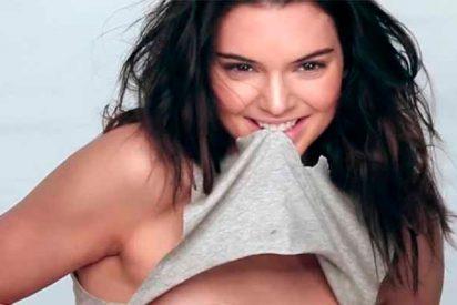 El tanga de Kendall Jenner derrite la nieve: Ni Pilar Rubio, ni Sara Carbonero, ni Kim Kardashian
