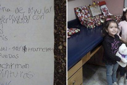 Esta niña de México envía una carta a Papá Noel en globo, una pareja la encuentra en EE.UU. y la hacen realidad