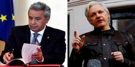 Ecuador tiene un pacto con el Reino Unido para echar a Assange de la Embajada