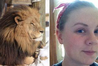 Un león mata a una becaria en su primer mes de trabajo en un zoológico