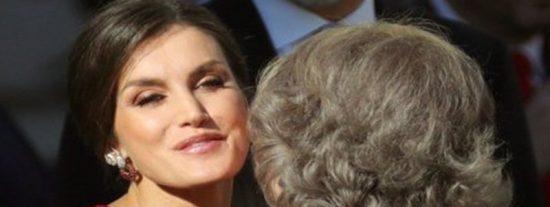 El gesto de Letizia a la reina Sofía del que todos hablan