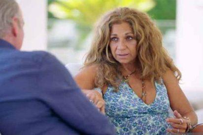 "Lolita se confiesa con Bertín Osborne: ""He tenido que pedir dinero a mi hermana para comer"""