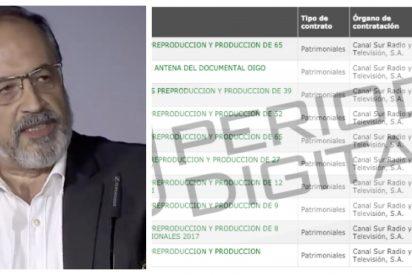 Así 'trincan' las productoras amigas del PSOE en Canal SUR: cofradías y romerías a 383.000 euros al día