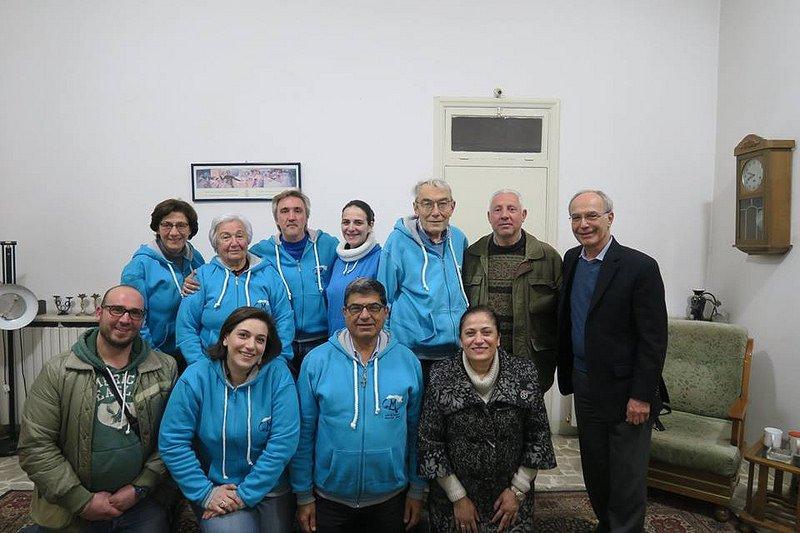 Regalo de Navidad: Carta de una familia desplazada a los Maristas azules de Alepo