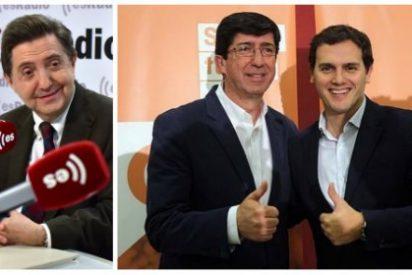 """Losantos estalla con la última guarrada de Rivera y su marioneta a Vox: """"No vais a sacar ni un alcalde"""""""