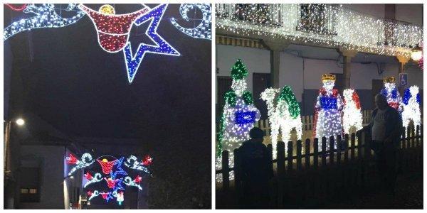 La Navidad en Valdemoro es un desastre: iluminación mal colocada y los Reyes Magos a su aire