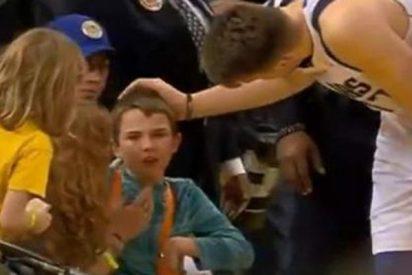 El bonito gesto de Luka Doncic con un niño que aplaude toda la NBA