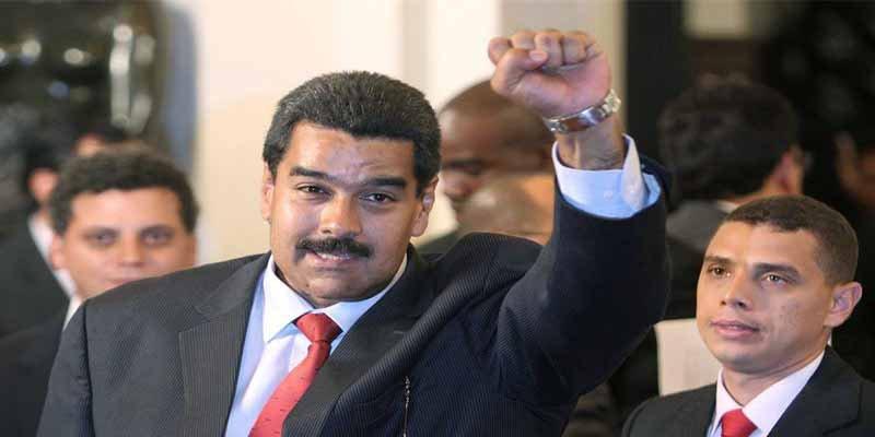 ¡Pa fuera cabrones! Así echaron a los escoltas de Maduro del Palacio Nacional de México