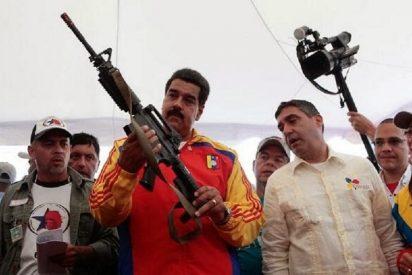 """El dictador Nicolás Maduro presume de su guerrilla civil: """"La Milicia Bolivariana cuenta con 1,6 millones de miembros"""""""