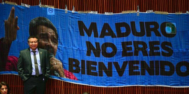 México: Maduro es recibido al grito de 'Dictador, dictador', en la investidura de López Obrador