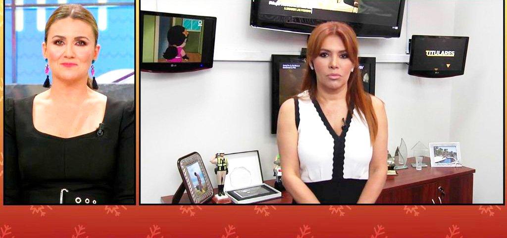 """""""En Perú nadie conoce a Miriam Saavedra"""" afirma la periodista peruana Magaly Medina"""