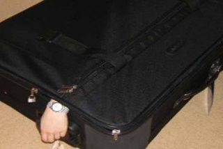 Detenido un tipo de 26 años como autor del 'crimen de la maleta' en el piso turístico de Zaragoza