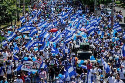 La dictadura de Nicaragua no deja marchar a favor del Día de los Derechos Humanos