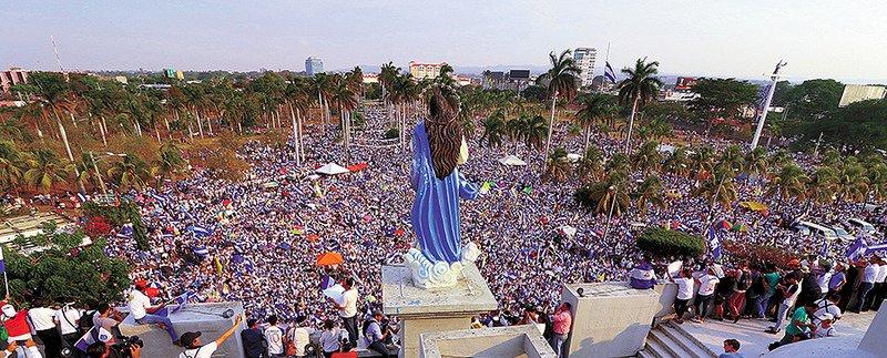 La Iglesia realizará una peregrinación por la paz de Nicaragua este 1 de enero