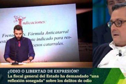 Marhuenda se solidariza con el mocoso Dani Mateo y considera 'humor' el insulto a España