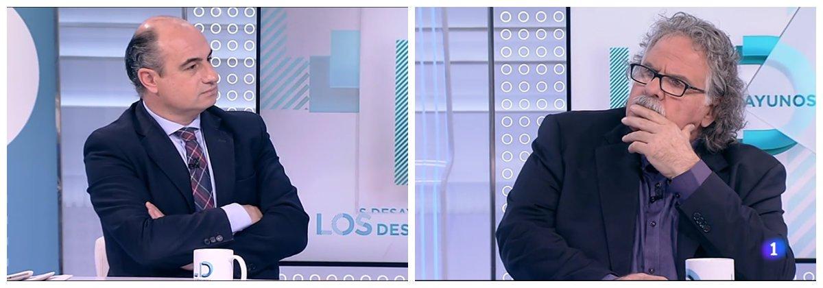 La magistral pregunta con la que Manuel Marín le hace confesar a Tardá la verdad más amarga del golpismo