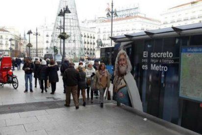 La EMT de Carmena y su lado más sectario: censura la campaña de navidad de Metro