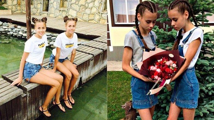 Masha y Dasha, las gemelas modelos de 14 años que padecen anorexia por ser obligadas a adelgazar