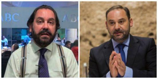 """El perdigonazo del """"casposo"""" Pérez-Maura a José Luis Ábalos por su cruzada contra los cazadores"""