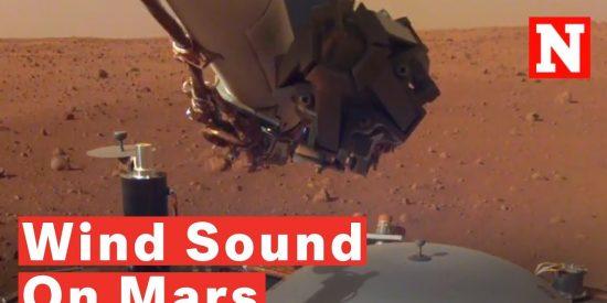 El increíble audio del misterioso viento que sopla en la superficie de Marte