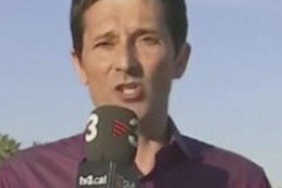 ¿Has visto lo que le pasa a este meteorólogo de TV3 en pleno directo?