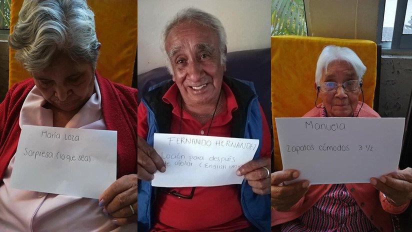 México: Los abuelos también hacen la carta de los Reyes Magos