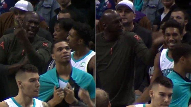 Michael Jordan golpea a uno de sus jugadores por cometer un error insólito