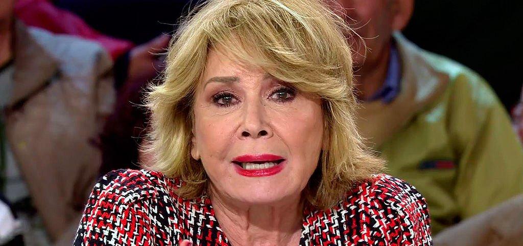 """Mila Ximénez, hundida tras el """"cruel"""" mensaje que le ha enviado María Teresa Campos"""