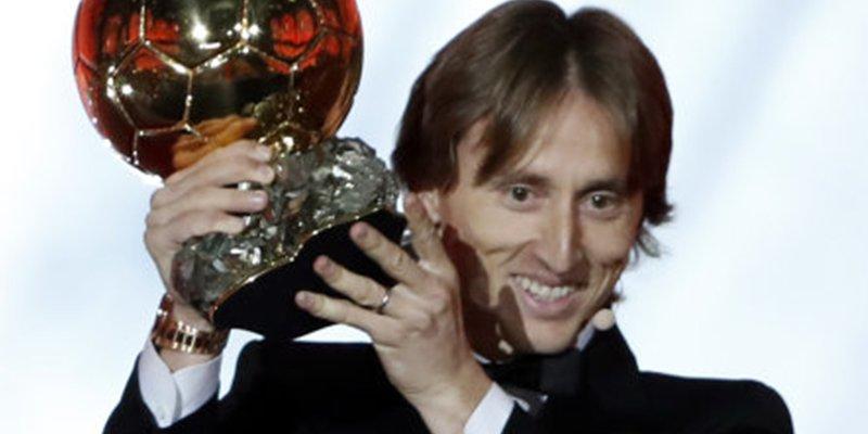 Modric gana el Balón de Oro y acaba con los mitos de Messi y Ronaldo