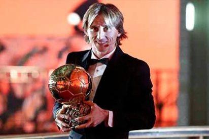 El extraño sitio donde Modric guardará el Balón de Oro