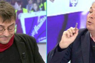 """El abogado de 'La Manada' soba el morro a Monedero: """"¡Tú querrías un juicio popular y guillotina en la plaza del pueblo!"""""""