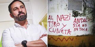 Abascal señala directamente al responsable de las pintadas fascistas en la casa de Morante