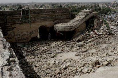Así destruyó el ISIS la mezquita y dejó al descubierto un palacio de 3.000 años de antigüedad
