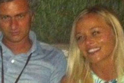 En Inglaterra insinúan una posible relación extramatrimonial de Mourinho