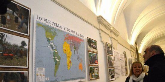 La UPSA muestra con fotografías proyectos de cooperación hechos realidad