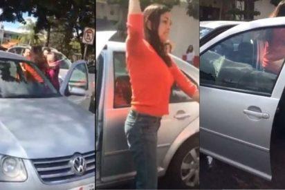 México: Mujer golpea a una familia porque los abuelos tardaron mucho tiempo en cruzar la calle