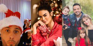 Así celebraron la Navidad las reconocidas celebridades