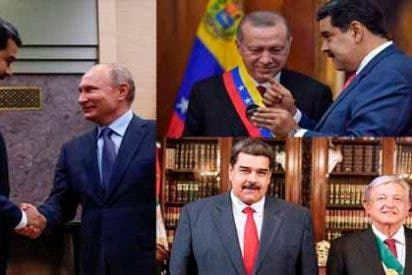 Maniobras de un dictador en desespero: Los apoyos de Maduro para evitar el aislamiento internacional de Venezuela