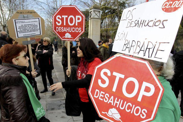 La Iglesia de Madrid pide que que se impidan los desahucios de personas vulnerables, ancianos, niños y niñas