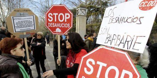 """Uno de cada cuatro madrileños """"está en riesgo de perder"""" su vivienda"""
