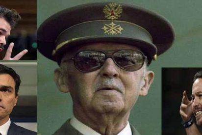 Al Gobierno Sánchez se le aparece el fantasma del Generalísimo Franco