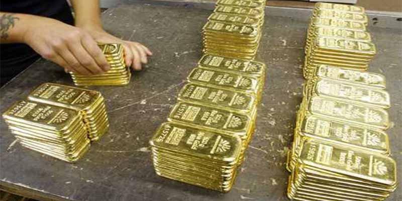 Los futuros del oro bajaron durante la sesión de EEUU: 1.241,90 $ la onza troy