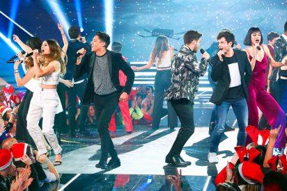 La Gala de Navidad de 'OT' recibe una lluvia de críticas por el trato a los concursantes