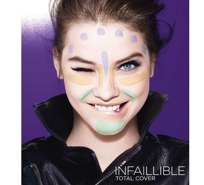 L'Oréal Paris Infalible Total Cover, Paleta Correctora,