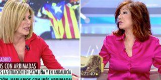 Esther Palomera se desempeña a fondo para exonerar a Sánchez de la violencia en Cataluña y Ana Rosa la fulmina