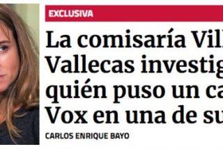 La última inocentada de 'Público Today': vender como un exclusivón que aparece un cartel de Vox en una comisaría