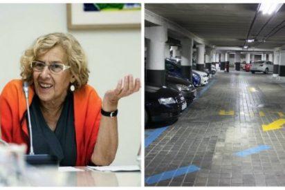 Carmena atropella otra vez con sus mentiras a los madrileños: solo ha construido el 25% de los parkings disuasorios prometidos