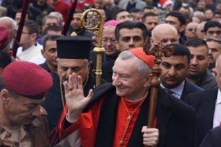 """Pietro Parolin: """"La Iglesia iraquí es un testigo para la Iglesia universal"""""""