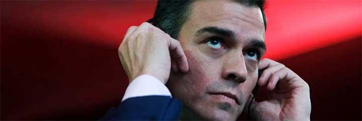La sociedad española, hasta las narices: Sánchez se lleva una mano de palos por su postureo con otro vil asesinato