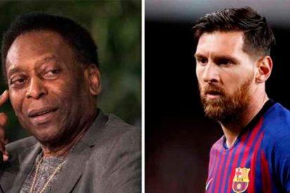 El gran Pelé sacude un zasca a Messi que deja tiritando a los hinchas culés